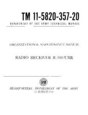 Buy MILITARY SURPLUS TM 11-5820-357-20 Technical Information by download #115486