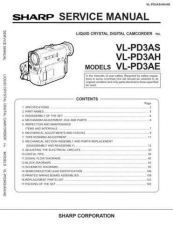 Buy Sharp VLS1H18 Service Manual by download Mauritron #211305