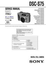 Buy Sony DSC-T33 Service Manual by download Mauritron #240319
