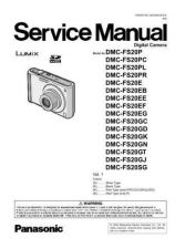 Buy Panasonic DMC-FX01SG Service Manual with Schematics by download Mauritron #266609