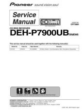 Buy Pioneer DEH-P7900UB Service Manual by download Mauritron #233682