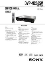 Buy Sony DVP-NS355NS501PNS507PNS525PNS575PNS585P Technical Information by download