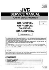 Buy JVC GM-P420PCE-A Service Manual Schematic Circuit. by download Mauritron #270471