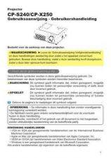 Buy Hitachi CP2125S EN Manual by download Mauritron #224593