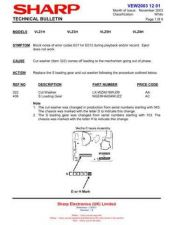 Buy Sharp. VLZ3926 Service Manual by download Mauritron #211571