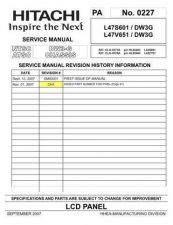 Buy Hitachi CLU-4373A Service Manual by download Mauritron #260626