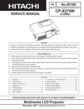 Buy Hitachi CPX880 885 Manual by download Mauritron #224873