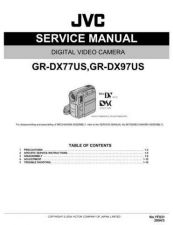 Buy JVC GR-DX77 SERVICE MANUAL by download Mauritron #220099