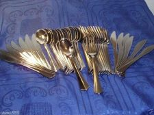 Buy Elegant Cutlery Set Disposable elegant silver-rich 12X6 72 units, bbq', Party