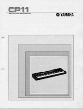 Buy Yamaha CP11E Operating Guide by download Mauritron #247176