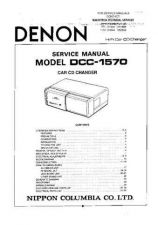 Buy DENON DCC1570 TECHNICAL I by download #105541