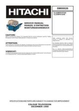 Buy Hitachi CL55WP910AN Service Manual by download Mauritron #260589