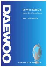Buy Daewoo. DHC2500001_2. Manual by download Mauritron #212756