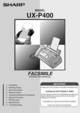 Buy Sharp UXP400209 Service Manual by download Mauritron #210685