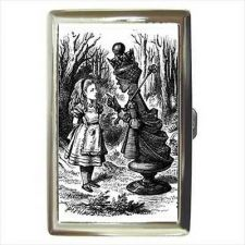 Buy Alice In Wonderland Red Queen Cigarette Money Credit Card Wallet Case