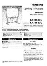 Buy Panasonic KXF1000 Operating Instruction Book by download Mauritron #236012