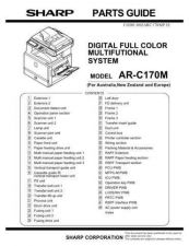Buy Sharp ARC172M Service Manual by download Mauritron #208184
