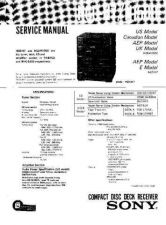 Buy Sony HCD-H7 Service Manual by download Mauritron #241163