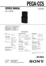 Buy Sony PEGA-CC5 Service Manual by download Mauritron #232277