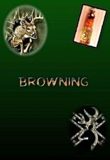 Buy Personalized BROWNING Name On Rice Gift Necklace cell phone camo deer hunting