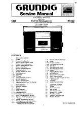 Buy GRUNDIG RR450 SERVICE I by download #105629