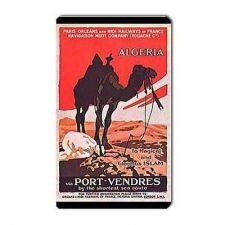 Buy Algeria Islam Vacations Camel Retro Travel Art Vinyl Magnet
