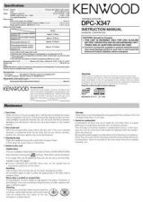 Buy Kenwood dpc-x447mp Operating Guide by download Mauritron #221064