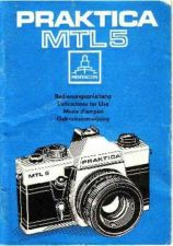 Buy Praktica MTL5 Operating Guide by download Mauritron #236699