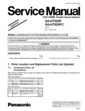 Buy Panasonic md0511429s1 Service Manual by download Mauritron #267746