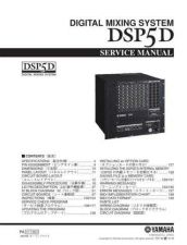 Buy Yamaha DSP5D C Manual by download Mauritron #256250