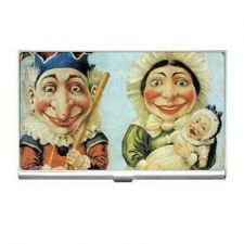 Buy Punch and Judy Vintage Puppet Art Business Credit Card Holder
