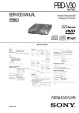 Buy Sony PBD-V30 Service Manual. by download Mauritron #243205