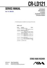 Buy Sony CR-LD121 Service Manual by download Mauritron #231796