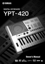 Buy Yamaha YPT420 EN OM C0 Operating Guide by download Mauritron #205666