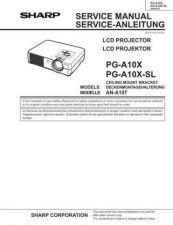Buy Sharp PGA10X Service Manual by download Mauritron #209130