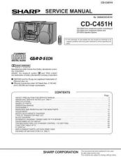 Buy Sharp CDC451H (1) Service Manual by download Mauritron #208510
