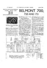 Buy BELMONT 700 SERVICE I by download #105443