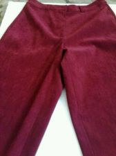 Buy Women's Petites Talbots Brand Stretch Pants Polyester and Spandex Size 6 (Red)