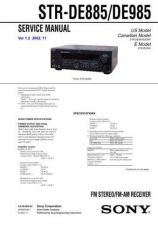 Buy Sony STR-GX40ES-GX50ES-GX60ES Service Manual. by download Mauritron #245138