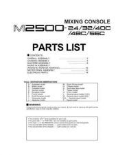 Buy JVC M2500E-MAIN Service Manual by download Mauritron #251640