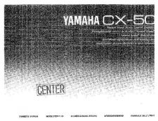 Buy Yamaha CX-50 Operating Guide by download Mauritron #247319