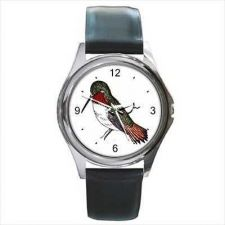 Buy Hummingbird Bird Art Unisex New Round Wrist Watch