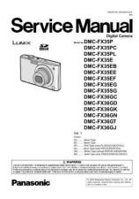 Buy Panasonic DMC-FX520GT Service Manual with Schematics by download Mauritron #266733