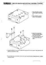 Buy Yamaha CBXD5E5 Operating Guide by download Mauritron #246938