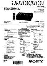 Buy Sony SLV-999HF-M11HF-M91HF Technical Manual. by download Mauritron #243930