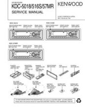 Buy KENWOOD KDC-Z727 Technical Information by download #118686