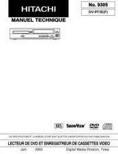 Buy Hitachi DVP315U Service Manual by download Mauritron #261783