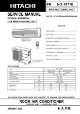 Buy Hitachi R-C- HL00237 Service Manual by download Mauritron #264128
