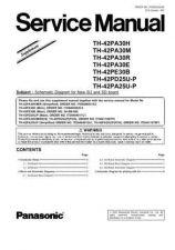Buy Panasonic TH-50PZ80U by download Mauritron #269341