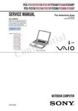 Buy Sony PCG-F480K-490K Service Manual. by download Mauritron #243261